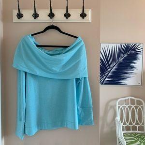 NWT Lilly Pulitzer Belinda One-shoulder Pullover